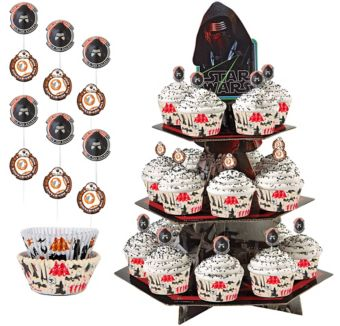 Star Wars 7 The Force Awakens Cupcake Kit for 24