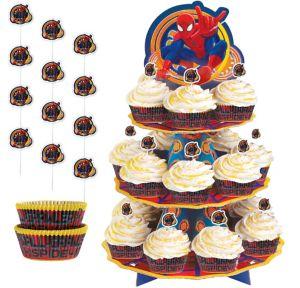 Spider-Man Cupcake Kit for 24