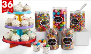 Rainbow Sweets & Treats Kit for 36 Guests