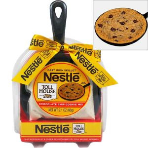 Nestle Cast Iron Skillet with Cookie Mix