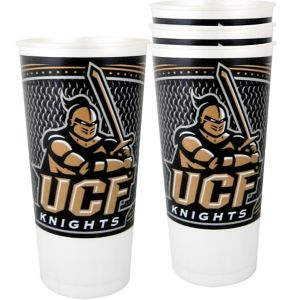UCF Knights Plastic Cups 4ct