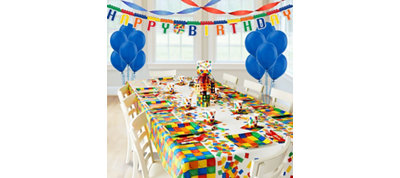 Building Blocks Super Party Kit for 8 Guests