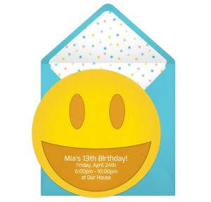 Online Smiley Invitations