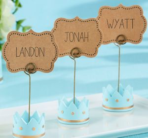 Little Prince Place Card Holders 12ct