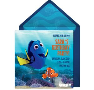 Online Finding Dory Invitations