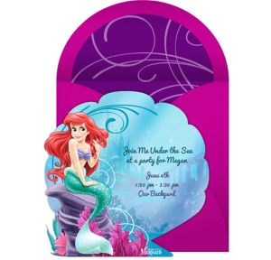 Online The Little Mermaid Invitations