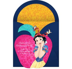 Online Snow White Invitations