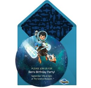 Online Miles from Tomorrowland Invitations