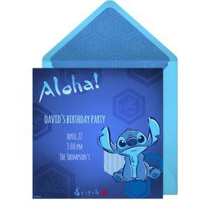 Online Stitch Invitations