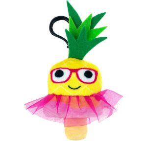 Clip-On Pineapple Ice Pop Plush