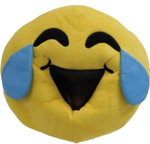 Oversized Laughing Crying Smiley Mask