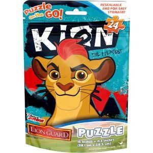 The Lion Guard Puzzle Bag 24pc
