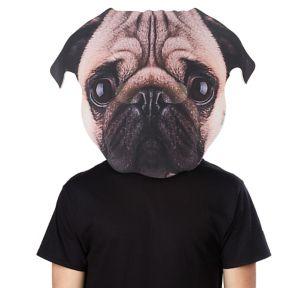 Adult Oversized Pug Mask