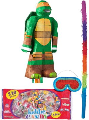 Michelangelo Pinata Kit - Teenage Mutant Ninja Turtles