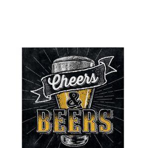 Cheers & Beers Beverage Napkins 16ct