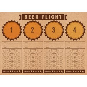 Beer Tasting Placemats 24ct