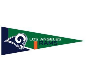 Small Los Angeles Rams Pennant Flag