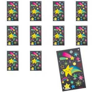 Jumbo Stars Stickers 24ct
