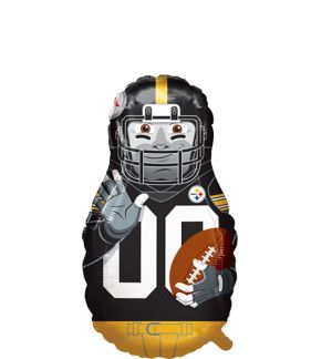 Giant Football Player Pittsburgh Steelers Balloon