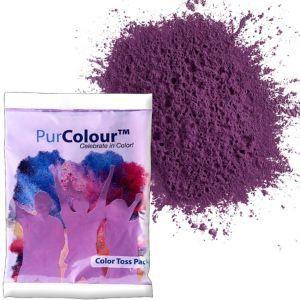 Purple Color Powder