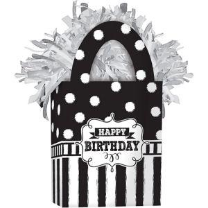 Chalkboard Birthday Balloon Weight