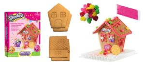Shopkins Sweets Shop Gingerbread House Kit