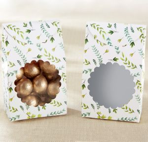 Botanical Garden Tent Favor Boxes 12ct