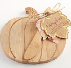 Pumpkin Cheeseboard & Spreader 2pc