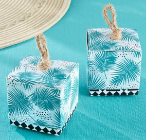 Tropical Chic Favor Boxes 24ct