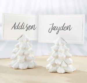 White Pine Tree Place Card Holders 6ct