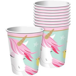 Magical Unicorn Cups 8ct