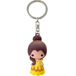 Belle Keychain - Beauty and the Beast