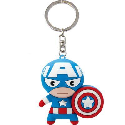 Captain America Keychain 2 1 4in x 2 1 4in  2de4e7c3dc