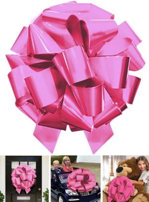 Jumbo Pink Gift Bow