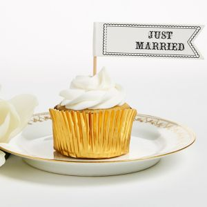 Just Married Party Picks 12ct