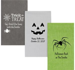 Personalized Halloween Bella Guest Towels