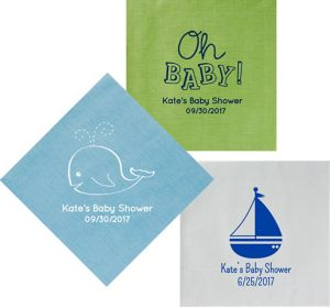 Personalized Baby Bella Dinner Napkins
