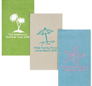 Personalized Summer Bella Guest Towels