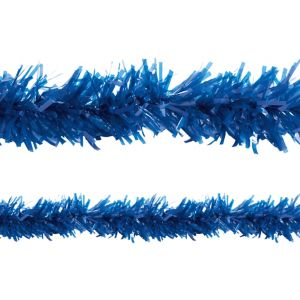 Dark Blue Twisted Fringe Garland