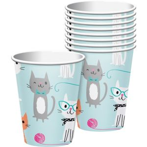 Purrfect Cat Cups 8ct
