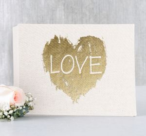 Brush of Love Guest Book