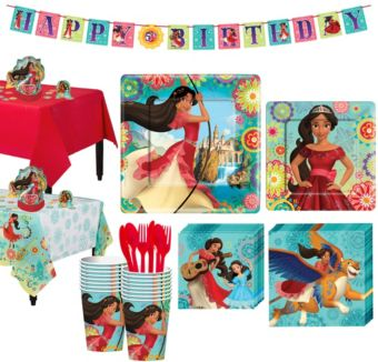 Elena of Avalor Tableware Party Kit for 16 Guests