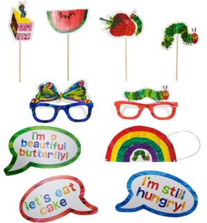 The Very Hungry Caterpillar Photo Booth Props 10ct
