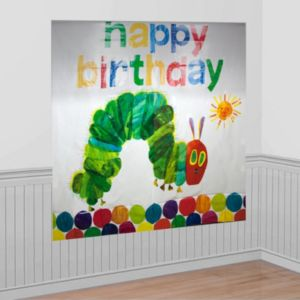 The Very Hungry Caterpillar Scene Setter 2pc