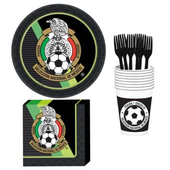 Mexico National Team Basic Party Kit for 8 Guests