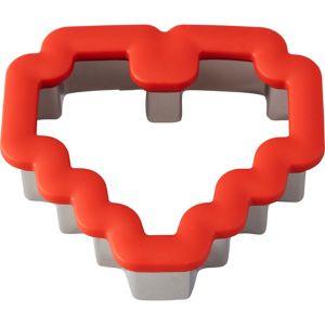 Wilton Rosanna Pansino 8-Bit Heart Cookie Cutter