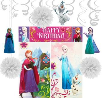 Frozen Decoration Kit