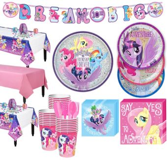 My Little Pony Tableware Party Kit for 24 Guests