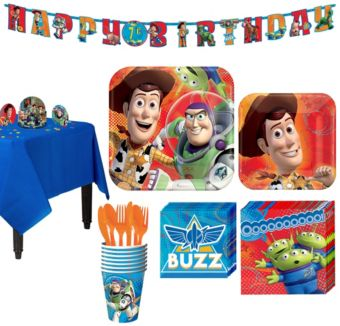 Toy Story Tableware Party Kit for 8 Guests