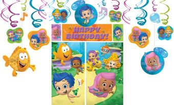Bubble Guppies Decoration Kit